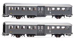 RIVAROSSI HO art. HR4298 - FS set 2 carrozze a 2 assi